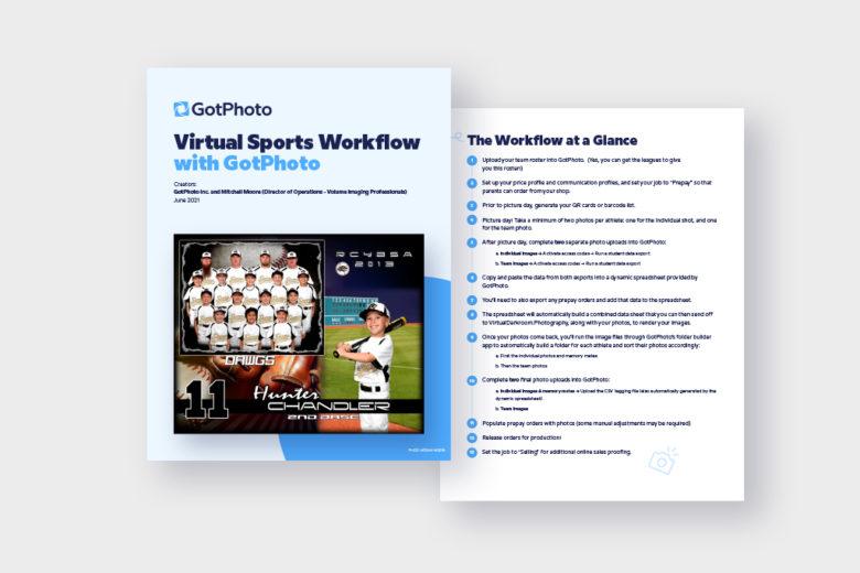 Virtual Sports Workflow